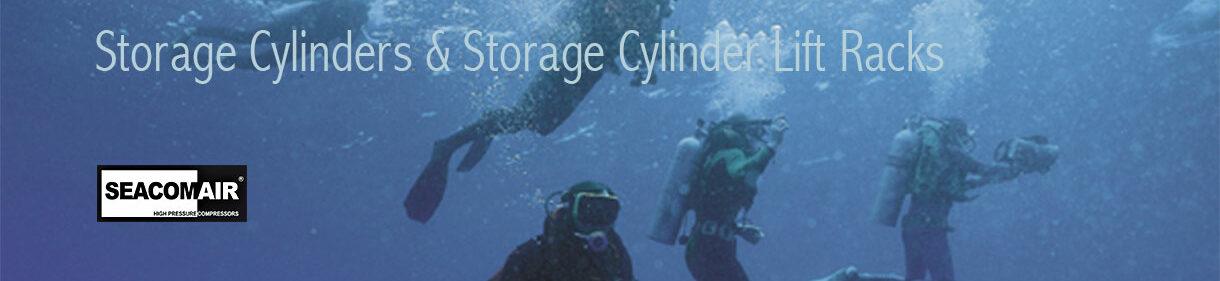 Storage Cylinders & Storage Cylinder Lift Racks