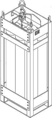 ASCLR300-350 Air Storage Lift Rack