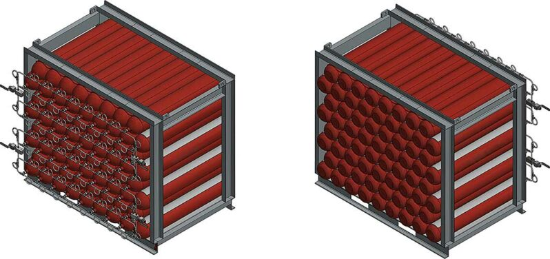 ASCLR3400-350 Air storage Lift Rack