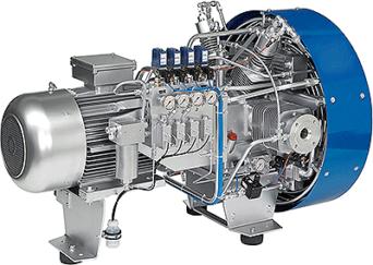 SCA2000E-OF-CNG Compressor