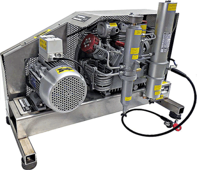 SCA215E4355OSS High Pressure Compressor