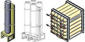 ASCR50 Air Storage Cylinders Racks
