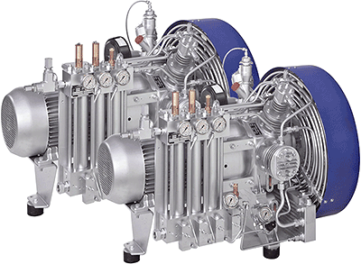 SCA2800OFS-350 Heavy Duty HP Compressor System