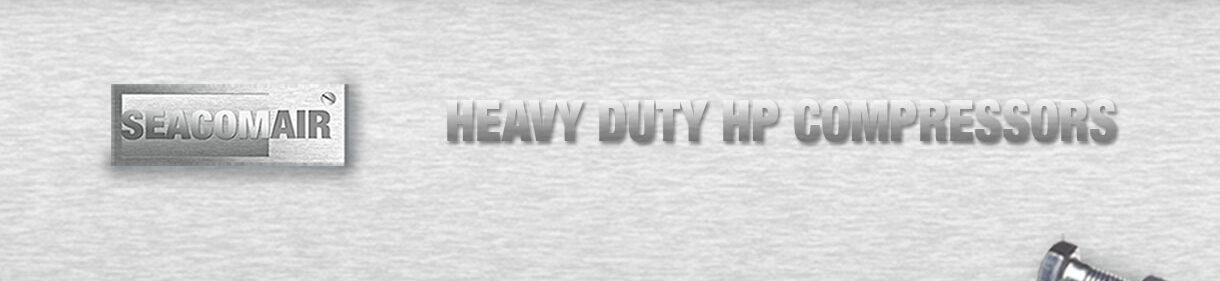 SeaComAir Heavy Duty HP Compressors